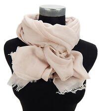 Pañuelo Mujer Rosa 100% algodón de Ella Jonte BONITO Ligero Más Amplio Bufanda