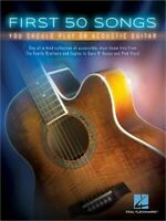First 50 Songs You Should Play on Acoustic Guitar (Paperback or Softback)