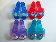 4 Pairs Disney Princess Shoes