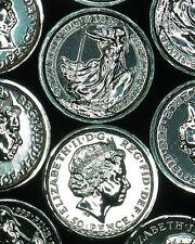 ONE EACH: 2014 Great Britain 50 Pence BU .999 SILVER Coin SS Gairsoppa FREE SHIP