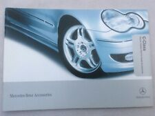 Mercedes C- Class Accessories car brochures
