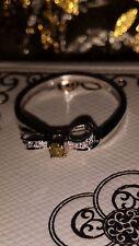 Fancy Brillant Ring ~Weißgold~ Gr. 54 ~Brillant 0,18 ct ~ Schleife ~TOP ZUSTAND~
