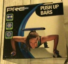 Pro Strength Push Up Bars Set-Soft Hand Grips-Define & Build Chest & Triceps NEW
