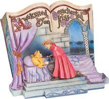 Disney Jim Shore Sleeping Beauty Enchanted Kiss Storybook 4043627 NRFB RARE