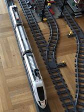 Lange Gerade 1 m bauen; kompatibel mit Lego City Eisenbahn