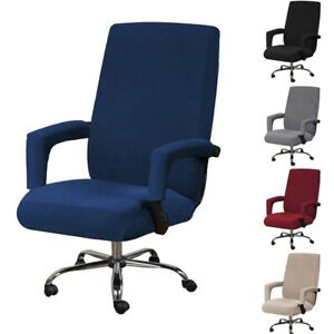 Swivel Chair Cover Office Armchair Slipcover Computer Seat Covers For Home Hotel