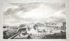 1782 Kassel Hessen Kupferstich-Ansicht Weise Tischbein