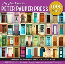 All the Doors Peter Pauper Press 1000 Pieces Jigsaw Puzzle 70cm x 50cm