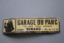 LF Ancien autocollant Garage du Parc 10 yves verney Dinard Saint Christophe