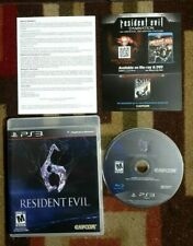 Resident Evil 6 Complete (Sony PlayStation 3, 2012) Excellent Condition & Tested