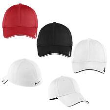 Nike Dri-FIT Mesh Swoosh Flex Sandwich Hat Fitted Cap 333115 - Pick Color & Size
