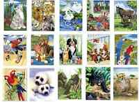 30 DESIGNS TO CHOOSE FROM A4 ACRYLIC PAINT BY NUMBERS ARTIST BRUSH PAINTING KITS