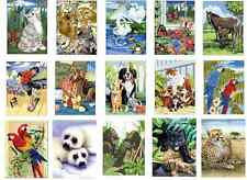 35 DESIGNS TO CHOOSE FROM A4 ACRYLIC PAINT BY NUMBERS ARTIST BRUSH PAINTING KITS