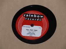 "EDDIE PIANO MILLER Sidewalks Of New York/ Tea For Two 10"" 78 Rainbow 70022 VG+"