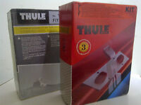 Thule 104 Fitting Kit for roof rack, rails FORD Fiesta, MAZDA 121