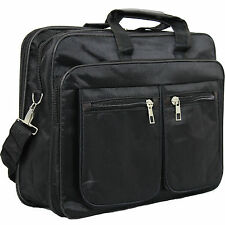 "15.6"" Laptop Bag Notebook Case With Shoulder Strap, Handle Zip & Extra Pockets"
