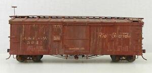 Sn3 Narrow Gauge #3041 D&RGW Camel Door Version BOX CAR Weathered ~ T130D