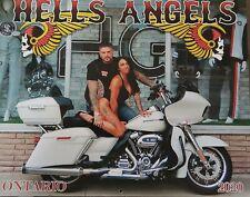 2020 Hells Angels Ontario Canada Calendar