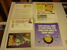 RARE Nintendo Power Super Power Club Membership Kit Card Poster Service 1993