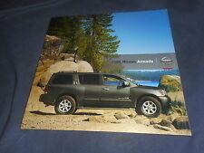 2006 Nissan Armada V8 SUV USA Market Sales Catalog Brochure Prospekt