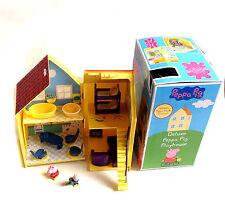 POPULAR Kids TV PEPPA PIG PIEGHEVOLE TOY CAMERA W / FIGURE & Furniture + SCATOLA