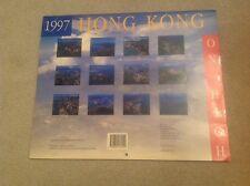 Calendar 1997 Hong Kong British Empire Colony China