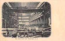 Washington DC Gun Shop Navy Yard Interior Factory Antique Postcard K28731
