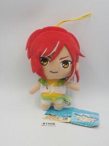 "Ensemble Stars B1908 Natsume Sakasaki Furyu Strap Mascot 6"" Plush Toy Doll Japan"