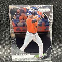 2020 Panini Prizm YORDAN ALVAREZ RC Houston Astros Rookie #181