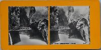 Suisse Reggiseno Del Trient Foto Stereo PL47 Vintage Analogica c1900