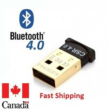 Bluetooth 4.0 CSR 4.0 Dongle Adapter USB Bluetooth Receiver for Desktop, Laptop