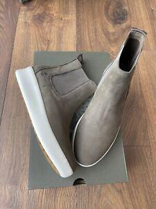 New Timberland Womens Berlin Park Chelsea Olive Nubuck Boots Shoes UK 7 EU 40