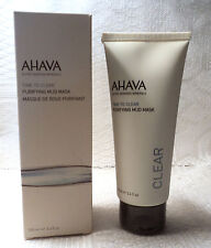 AHAVA TIME TO CLEAR PURIFYING MUD MASK - 3.4 fl.oz. - SEALED/NEW IN BOX
