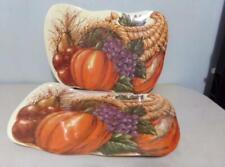 Set of 6 Fall Harvest ~ Thanksgiving Placemats ~ Cornucopia, Pumpkin, Fruits etc