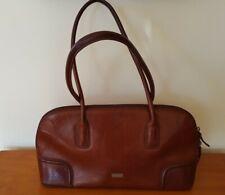 Vintage Tan Leather Oroton Handbag shoulder