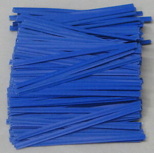 """4"""" Paper Twist Ties Candles Favors Plastic Cello Bags assorted colors quantities"""