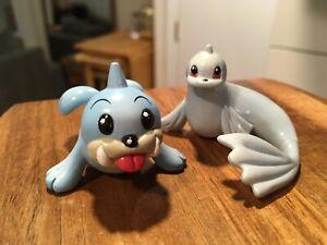 Pokemon TOMY CGTSJ Seel Dewgong PVC Vtg Figure Lot 90's Nintendo Gen 1