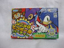 Sonic Pinball Party Game Boy Advance Nintendo Japan Game GBA