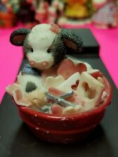 Mary Moo Moos Figurine - I'm In Love With Moo