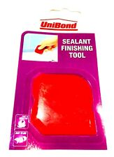 1 X UniBond Sealant Silicone Mastic Finishing Tool Hand Held - RED