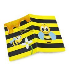 Cute 3D Honey Bee Identity Card Passport Holder Protect Cover f Journey Travel