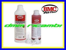 Kit Pulizia BMC per Filtri Sportivi cotone AUTO MOTO filtro lavaggio ripristino