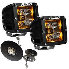 Rigid Radiance LED Fog Light Kit w/Amber Backlight for GMC Sierra 1500 2500 3500