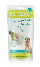 BambooStick 30 cotton buds for the healthcare of large dogs' ears. L/XL
