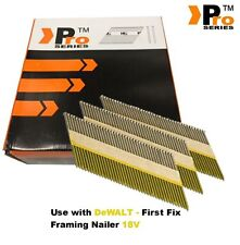 Framing Nails,Clipped D-Head , 2080 nails  for DEWALT 18v Cordless First Fix  00