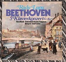 """Parnass BEETHOVEN Piano Concerto No 5 """"Emperor"""" RADU LUPU Josif CONTA Mint"""