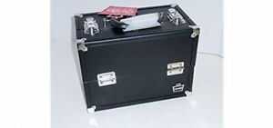 Caboodles Stepping Steppin Out Makeup Cosmetic Train Case. 6 Cantilevered Trays