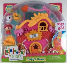 Lalaloopsy Tinies Tippy's Tumbelina House Play N Go Sew Magic Pet