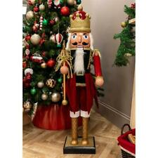 """New Singing Jingle Bells 45"""" Singing Nutcracker with Moving Arms & Mouth"""