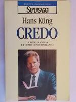 Credo Kung HansRizzoliBUR religione teologia fede chiesa uomo contemporaneo